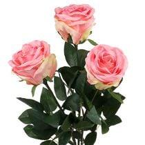 Skumros & dekorative roser