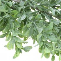 Kunstig plantekrans, buksbomssnegl, dekorativ grøn L125cm