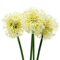 Ornamental Allium kunstig hvid 51 cm 4stk