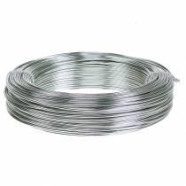 Aluminiumtråd 2mm 1kg sølv