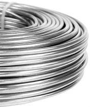 Aluminiumtråd 3mm 1kg sølv