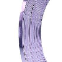 Lavendel fladtråd aluminium 5mm 10m
