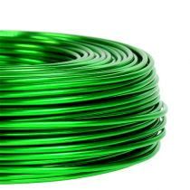 Aluminiumstråd Ø2mm 500g 60m æblegrøn