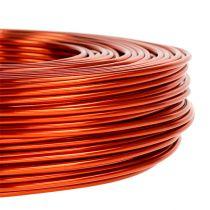 Aluminiumstråd Ø2mm 500g 60m orange