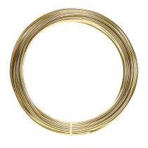 Aluminiumstråd 2mm 100g guld
