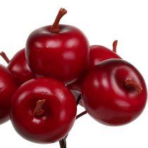 Æble Ø3,5cm rød 36stk