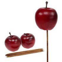 Kunstig æble rød Ø5,5cm 12stk