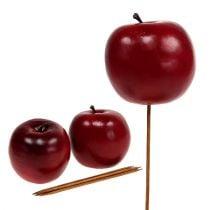 Kunstig æble rød Ø7,5cm 6stk