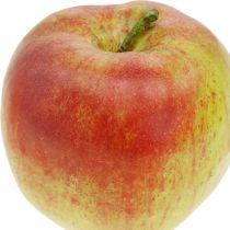 Kunstigt æble, dekorativ frugt Ø8cm 4stk