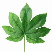 Aralia blad med stilkegrøn L61,5cm 12stk
