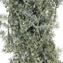 Dekorative asparges krans kunstige asparges hvid, grå Ø32cm