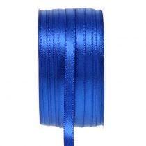 Dekorativt båndblåt 6mm 50m