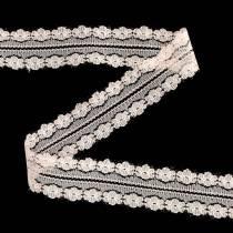 Blonder bånd Dekorative bånd Lyserød 20m 3cm Gavebånd