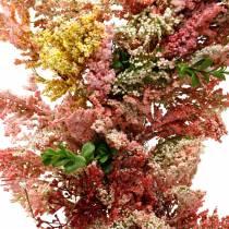Kunstige blomster krans lyng krans lyserøde silke blomster