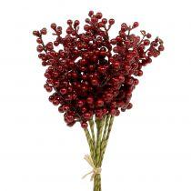 Berry pick rød 23 cm 12stk