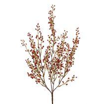 Kunstig rød bærgren 48cm 1p