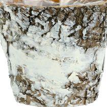 Birkekande mini hvid Ø7cm H7cm