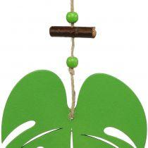 Blad 14,5 cm til hængende grøn