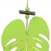 Blad til hængende lysegrøn 14,5 cm