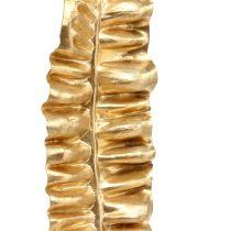 Gylden bregneblad 87cm