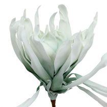 Blomstrende gren skum hvid, grøn 72 cm