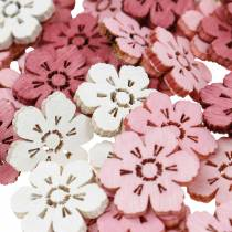 Spredte kirsebærblomster, forårsblomster, borddekorationer, træblomster spreder 144St