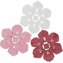 Træblomster kirsebærblomster, drys dekoration forår, borddekoration, blomster til drys 72stk