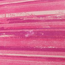 Blomsterpapir 37,5 cm lyserøde striber 100m
