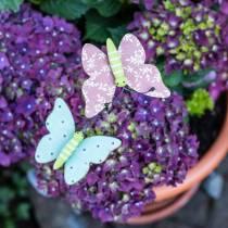 Blomsterstift sommerfugltræ 18cm 12stk