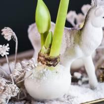 Blomstervoks voks 1 kg hvid
