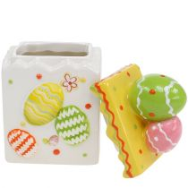 Candy box gul påske 13,5cm