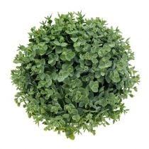 Boksvedkugle kunstgrønt Ø23cm
