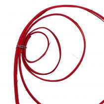 Cane Coil Wine Red 25stk