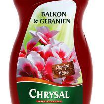 Chrysal balkon & pelargonier 500 ml