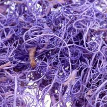 Krøllet mos lysviolet 350g