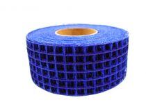 Gitterbånd 4,5 cm x 10m blå
