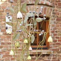 Dekorationsbøjle metalblomster tulipan 6cm 3stk