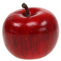 Dekorativ æble rød blank 4,5cm 12stk