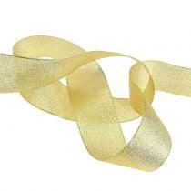 Dekorativt bånd guld forskellige bredder 22,5m