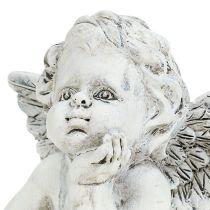 Dekorativ engel H7.5cm 6stk