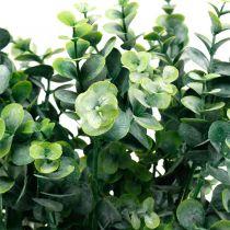 Dekorativ eukalyptus gren mørkegrøn Kunstig eukalyptus Kunstig grøn plante