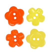 Dekorative knapper Ø1,5 cm farvet 200stk.