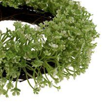 Dekorativ kransegrøn Ø25cm