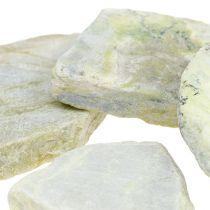 Dekorative mosaiksten grå -grøn mat 3cm - 8cm 1kg