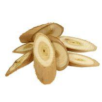 Dekorative træskiver ovale 9-12 cm 500g