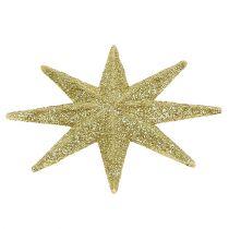 Dekorative stjerner guld Ø5cm 20stk