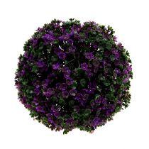 Dekorativ kuglilla fra blomster Ø18cm 1p