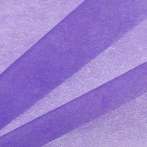 Dekorativ fleece 60cm x 20m violet