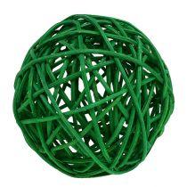 Sorter bolde Grøn 7cm 18p