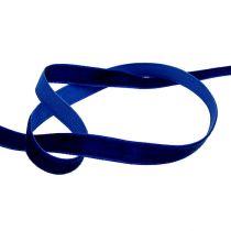 Dekorative bånd fløjlblå 10mm 20m